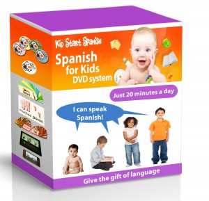 Spanish for Kids DVD Set Complete