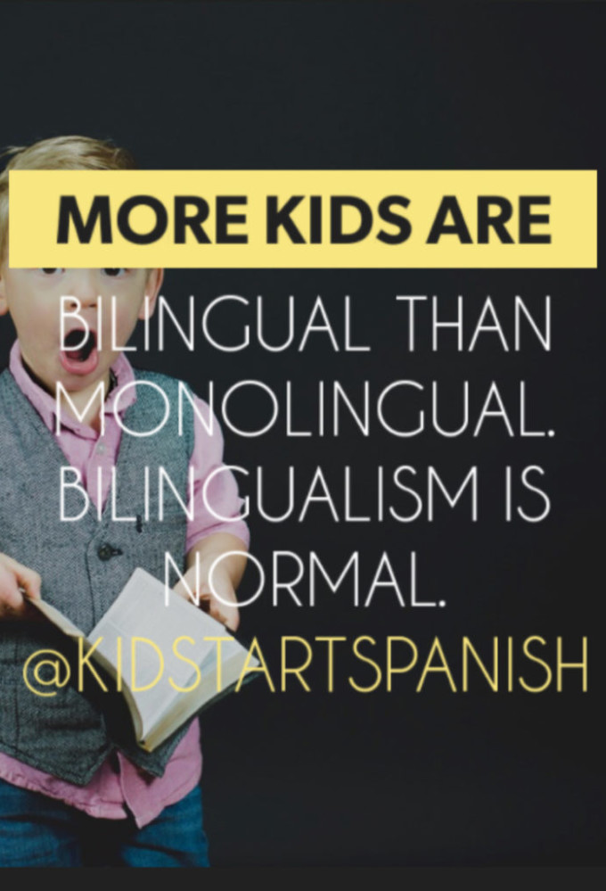 Being bilingual is being normal