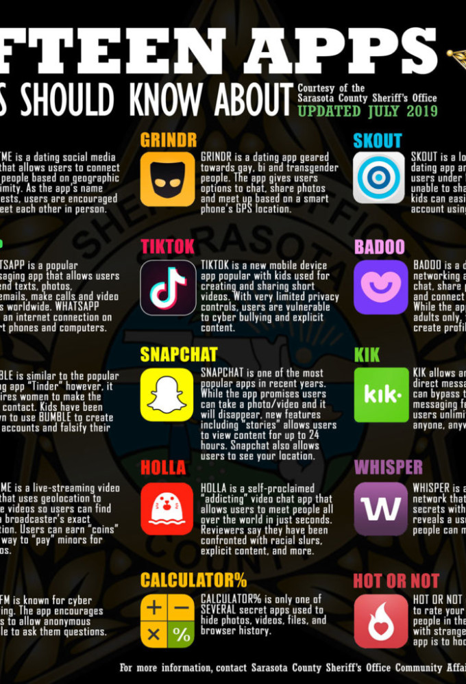 15 Apps Parents Should Keep Off Their Kid's Phone